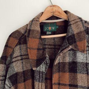 Vintage J Crew Wool Field Coat